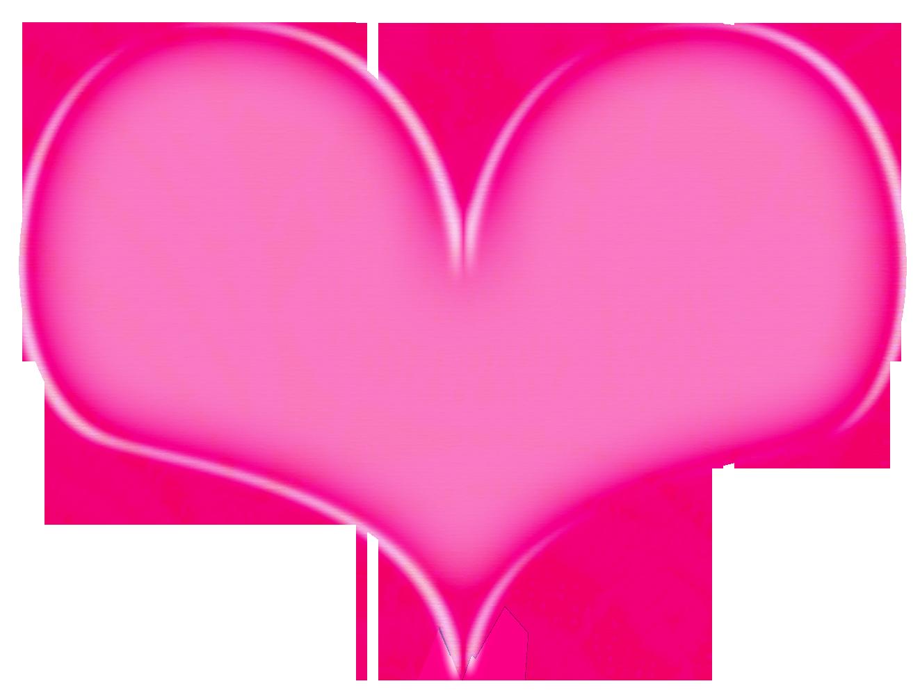 Hot Pink Heart PNG File SVG Clip arts