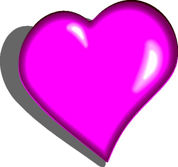 Hot Pink Heart PNG Image SVG Clip arts