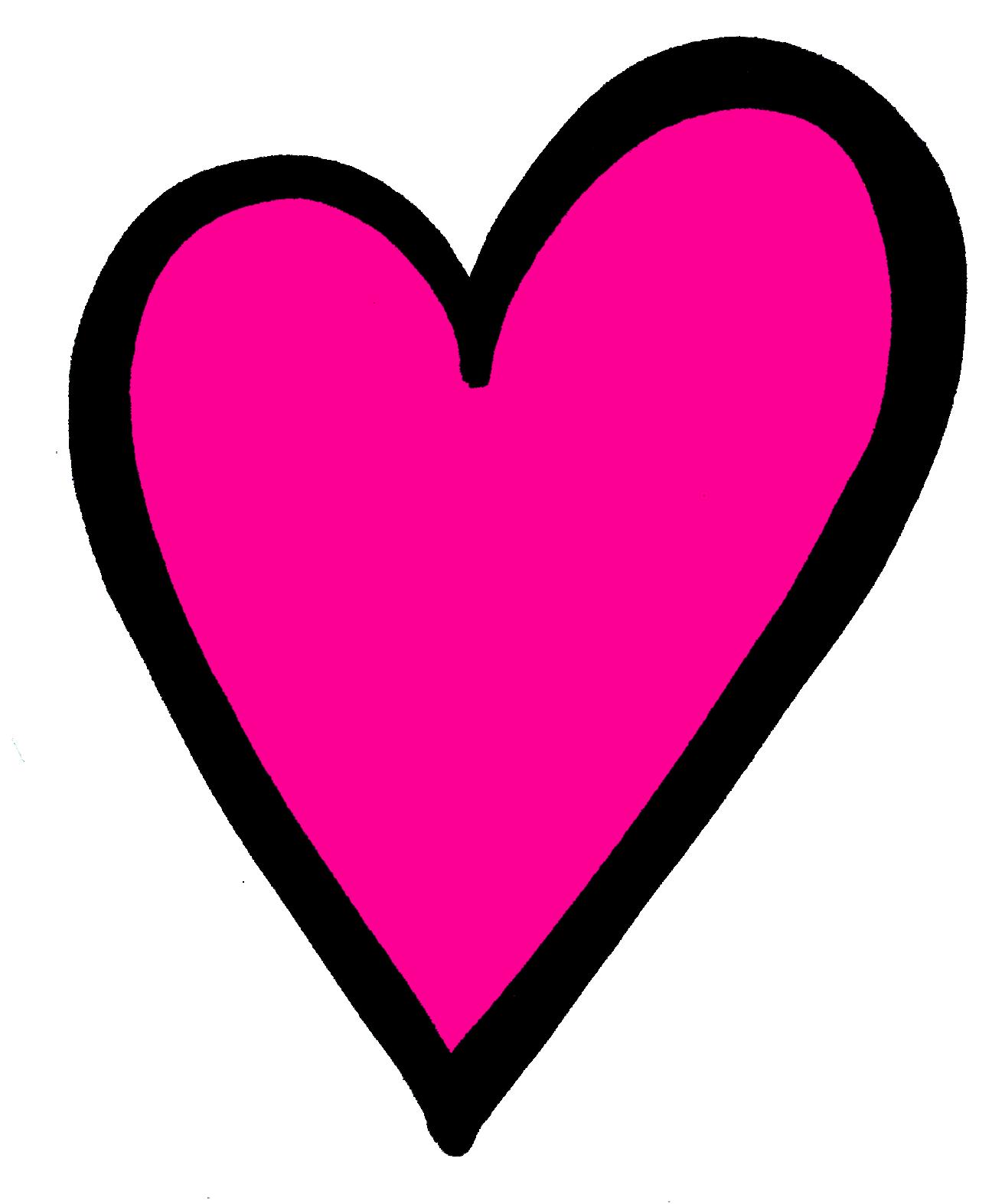 Hot Pink Heart PNG Transparent Image SVG Clip arts