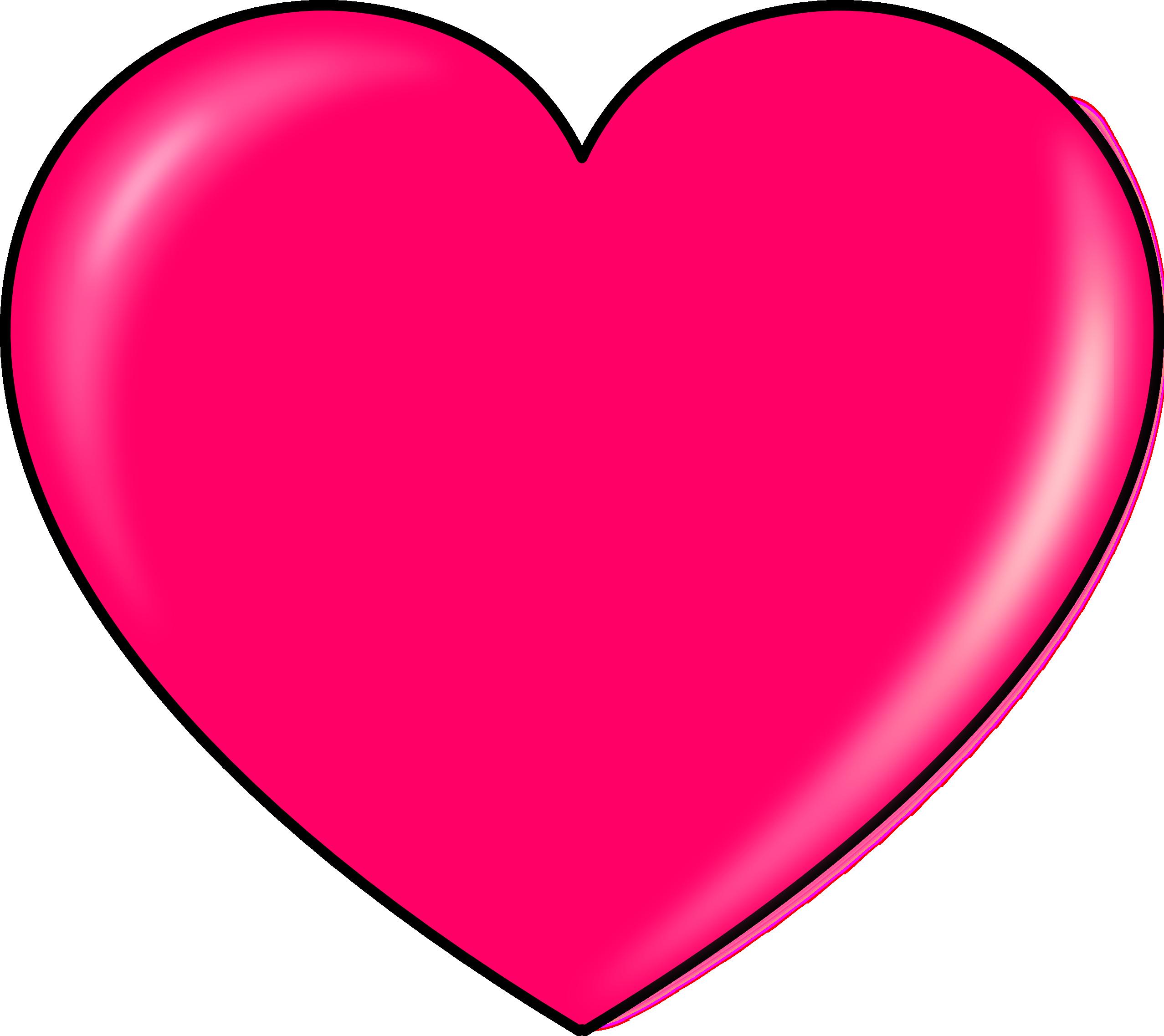 Hot Pink Heart Transparent PNG PNG, SVG Clip art for Web ...
