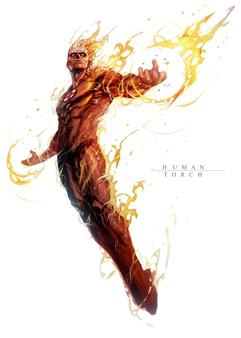 Human Torch PNG File SVG Clip arts