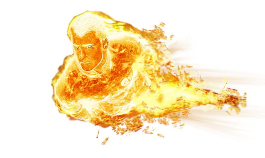 Human Torch PNG Free Download SVG Clip arts