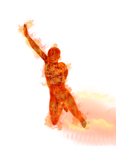 Human Torch PNG Image SVG Clip arts