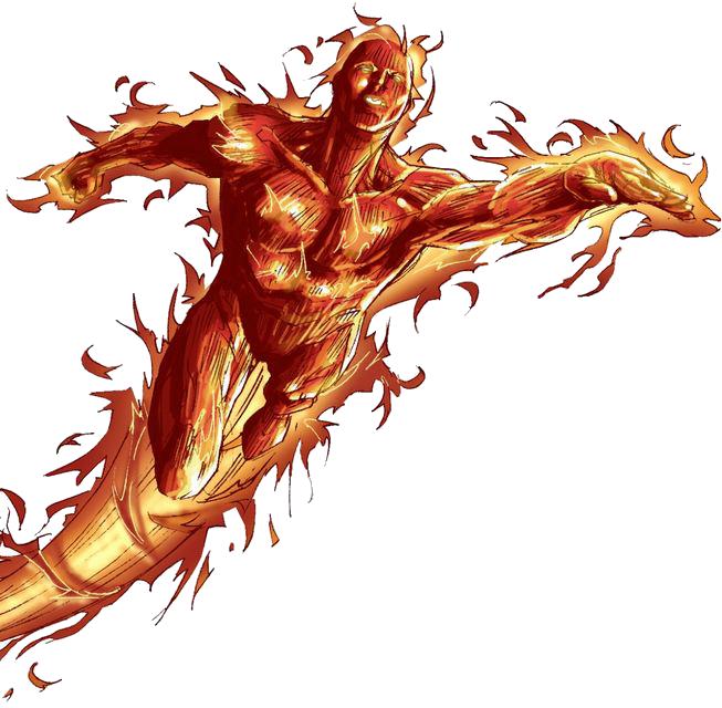 Human Torch PNG Photo SVG Clip arts