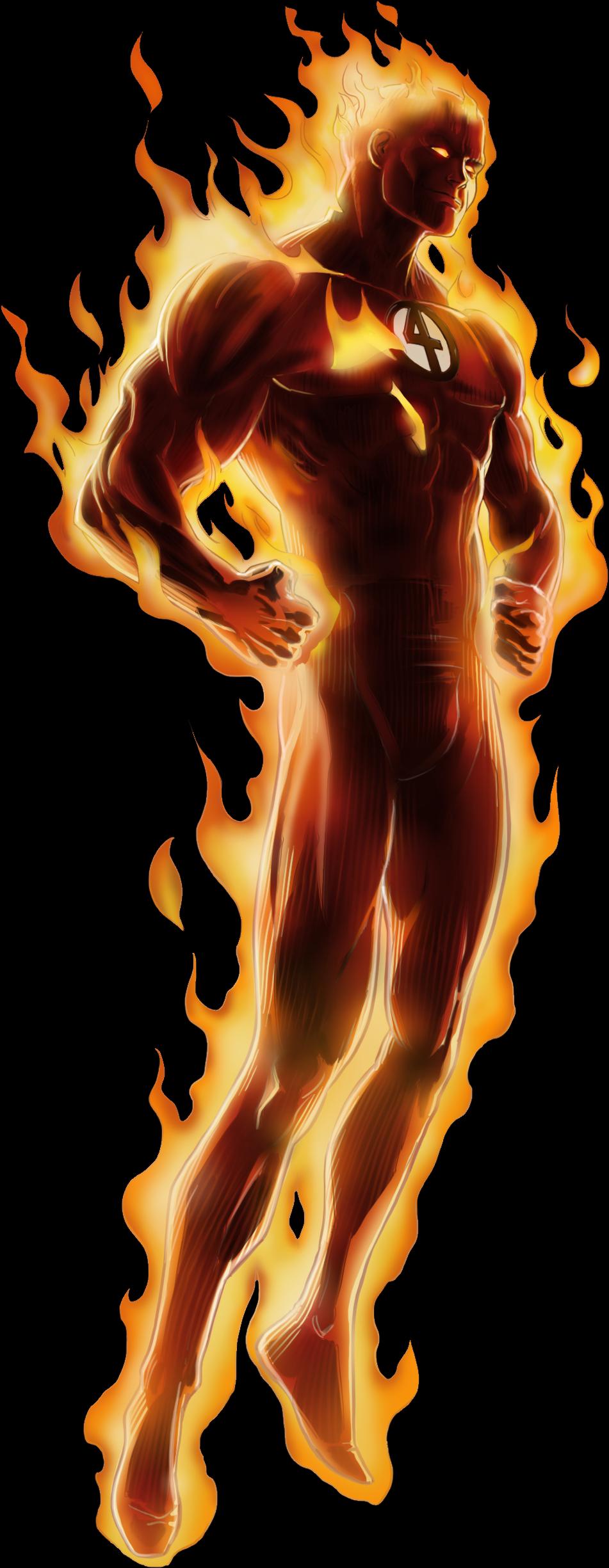 Human Torch PNG Pic SVG Clip arts