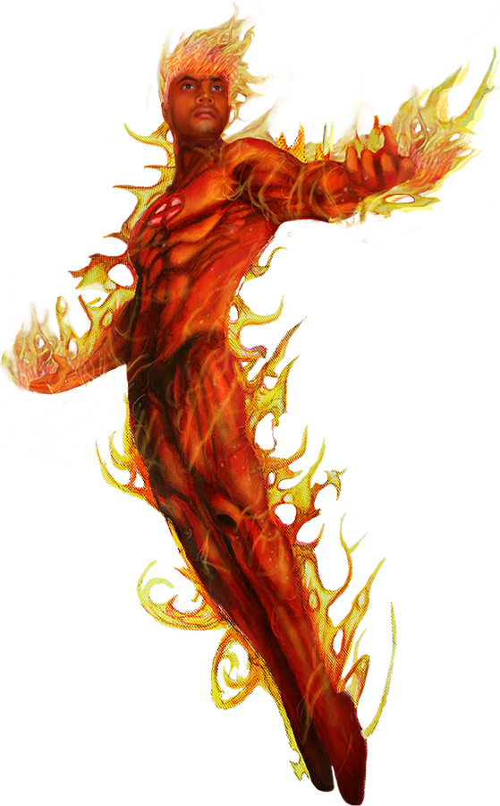 Human Torch PNG Picture SVG Clip arts