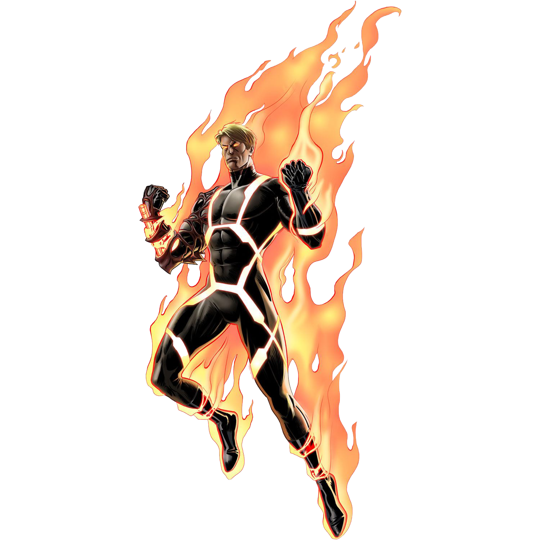 Human Torch Transparent Background SVG Clip arts