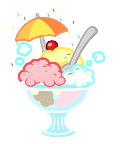 Ice Cream Sundae PNG Transparent Image SVG Clip arts
