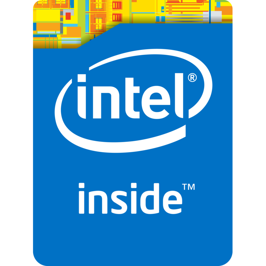 Intel Transparent Background SVG Clip arts