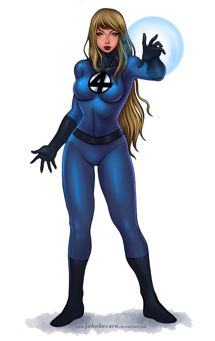 Invisible Woman PNG File SVG Clip arts