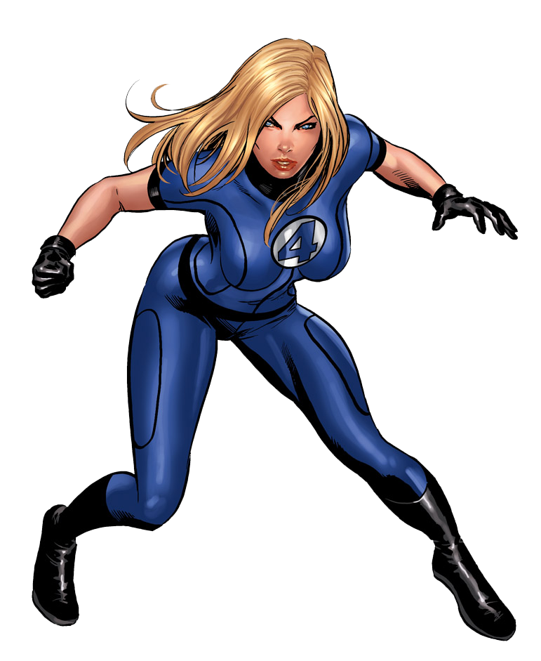 Invisible Woman PNG Photos SVG Clip arts
