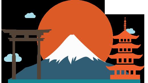 Japan Travel PNG Photos SVG Clip arts