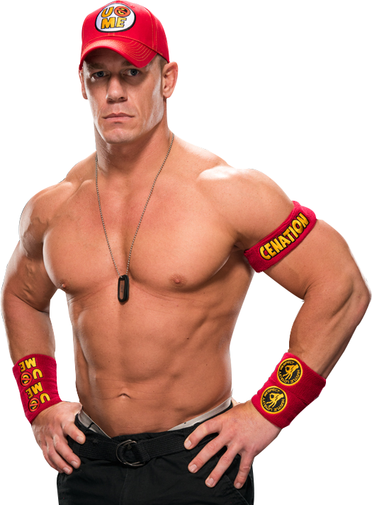 John Cena Transparent PNG SVG Clip arts