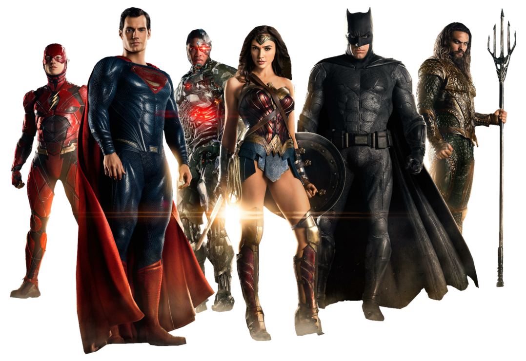 Justice League PNG Transparent Image SVG Clip arts