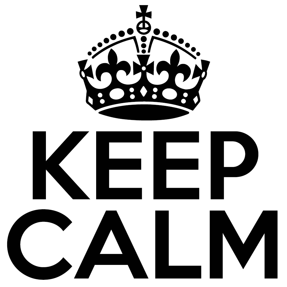Keep Calm PNG Pic SVG Clip arts