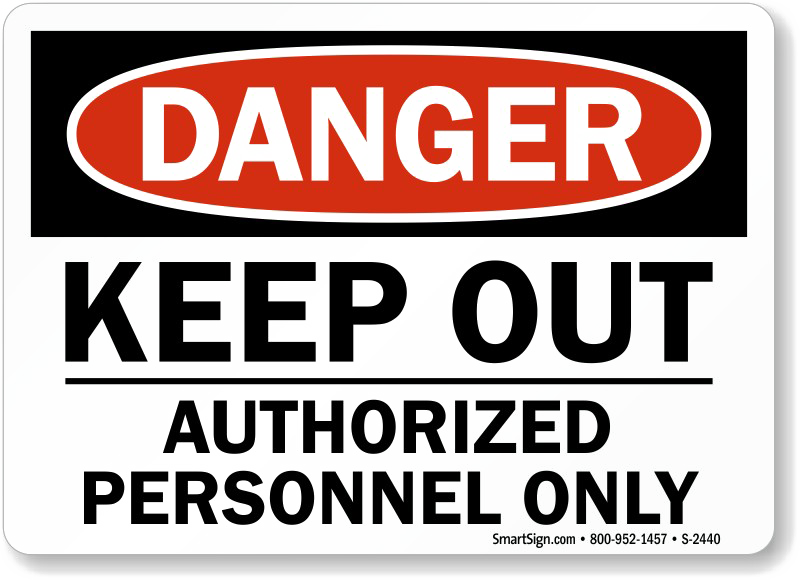 Keep Out Danger PNG Clipart SVG Clip arts