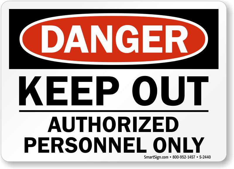 Keep Out Danger PNG Clipart SVG Clip arts