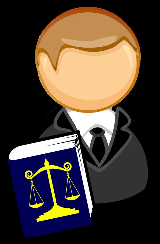Lawyer Transparent Background SVG Clip arts