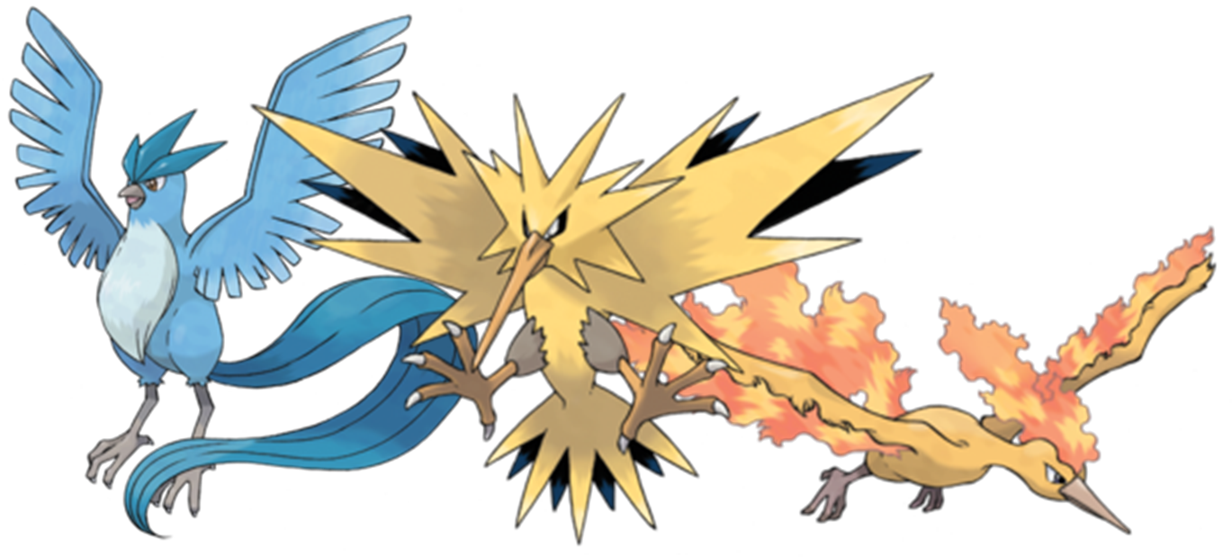 Legendary Pokemon PNG Photos SVG Clip arts