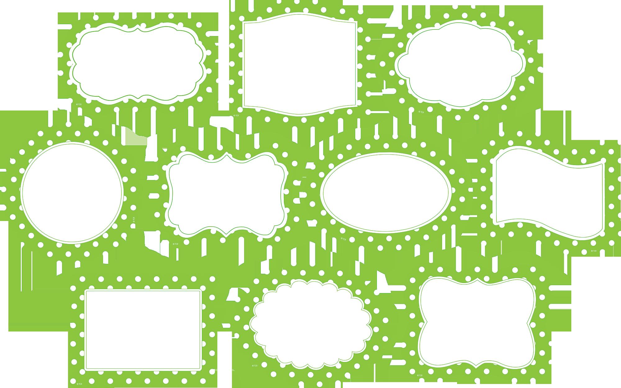 Lime Border Frame PNG Photos SVG Clip arts