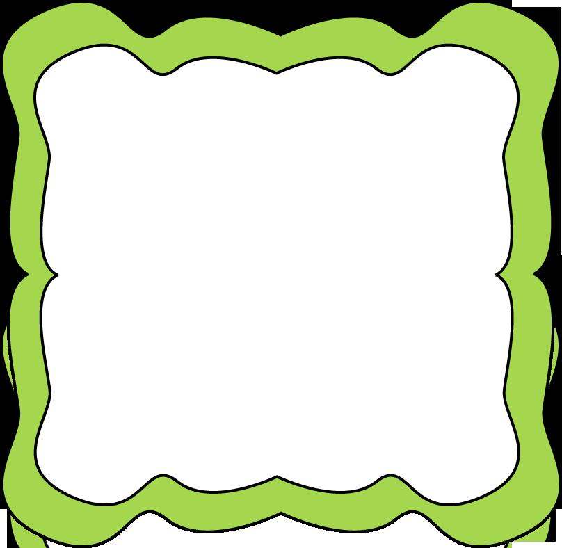 Lime Border Frame PNG Transparent Image SVG Clip arts