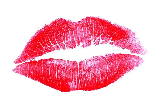Lipstick Kiss Transparent Background SVG Clip arts