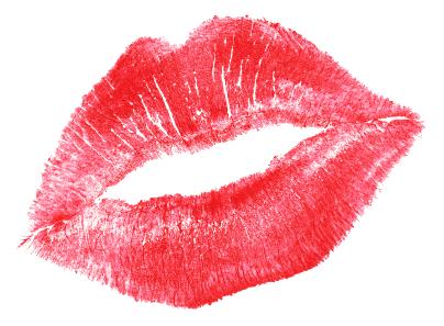 Lipstick Kiss SVG Clip arts