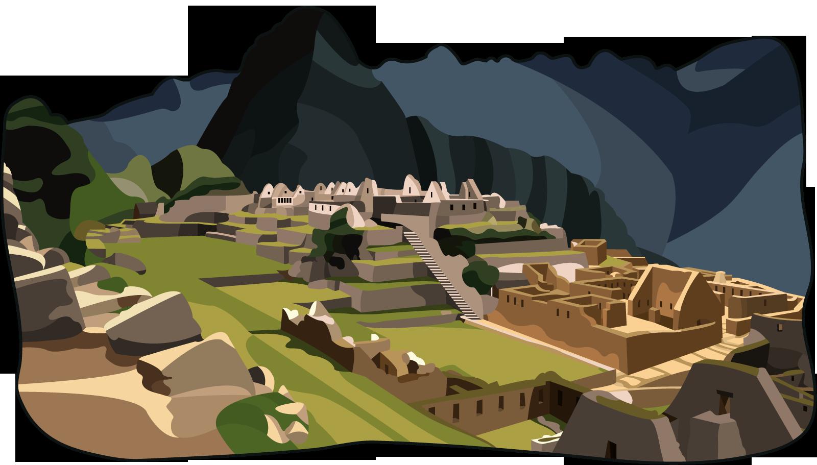 Machu Picchu PNG File SVG Clip arts