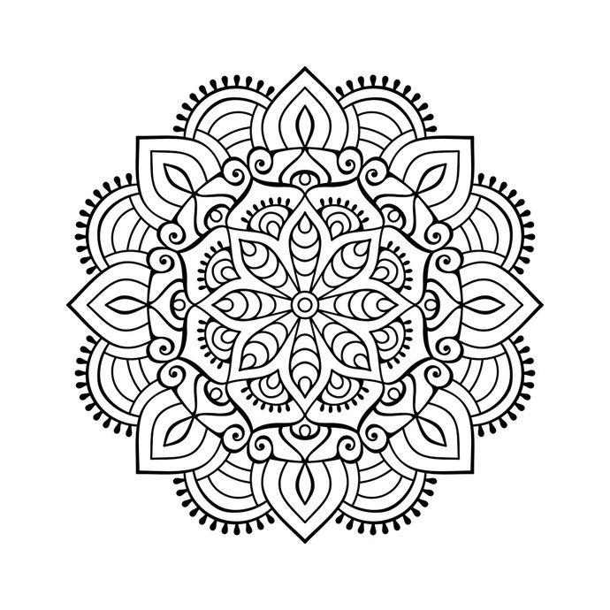 Mandala PNG Free Download SVG Clip arts