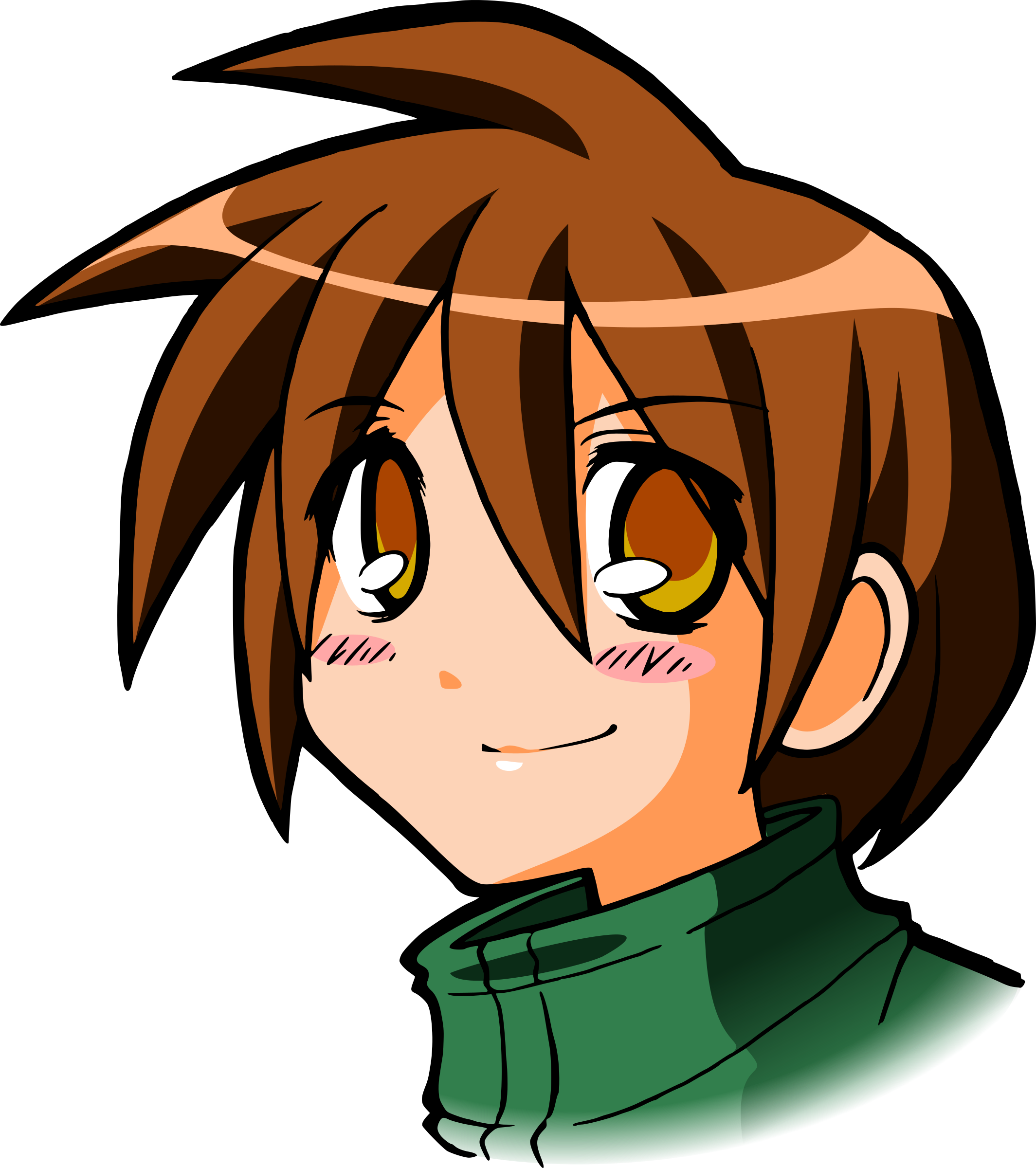 Manga PNG File SVG Clip arts