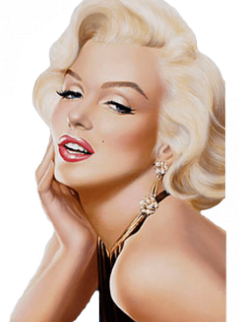 Marilyn Monroe PNG Clipart SVG Clip arts
