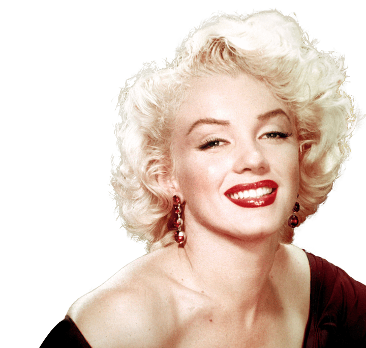 Marilyn Monroe PNG File SVG Clip arts