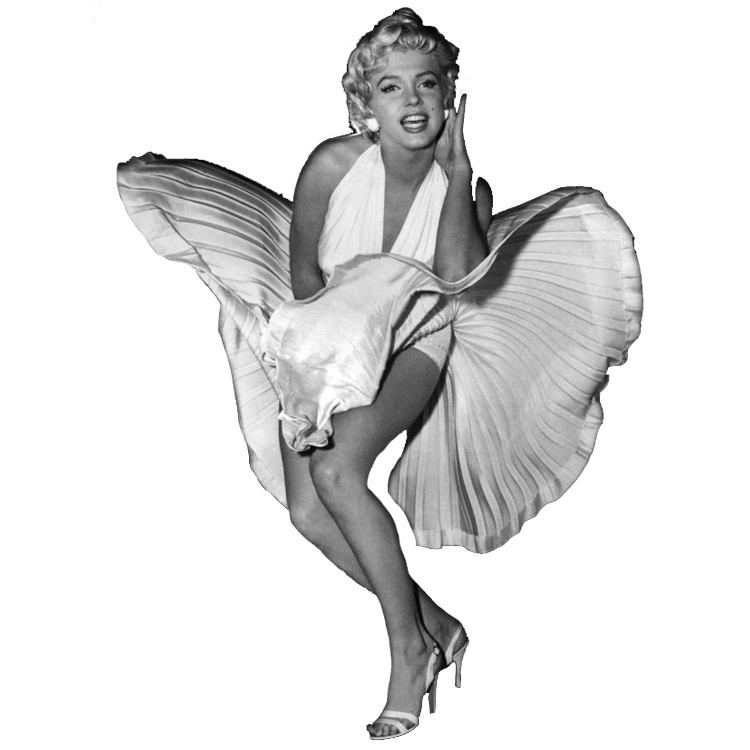 Marilyn Monroe PNG Photos SVG Clip arts