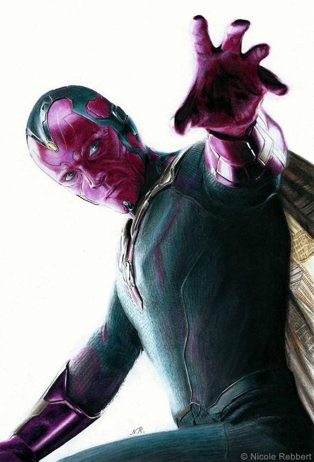 Marvel Vision PNG Clipart SVG Clip arts