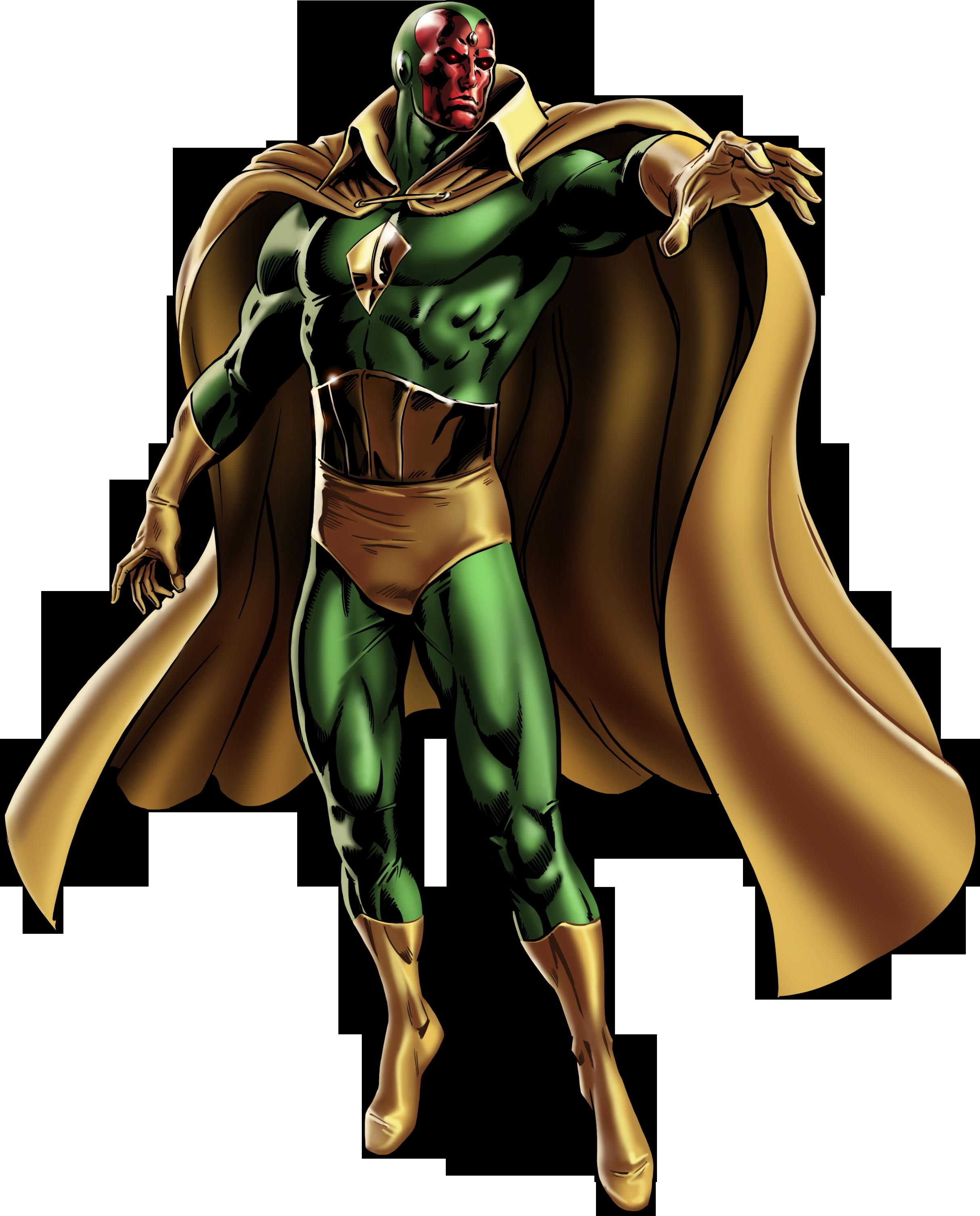 Marvel Vision PNG Pic SVG Clip arts
