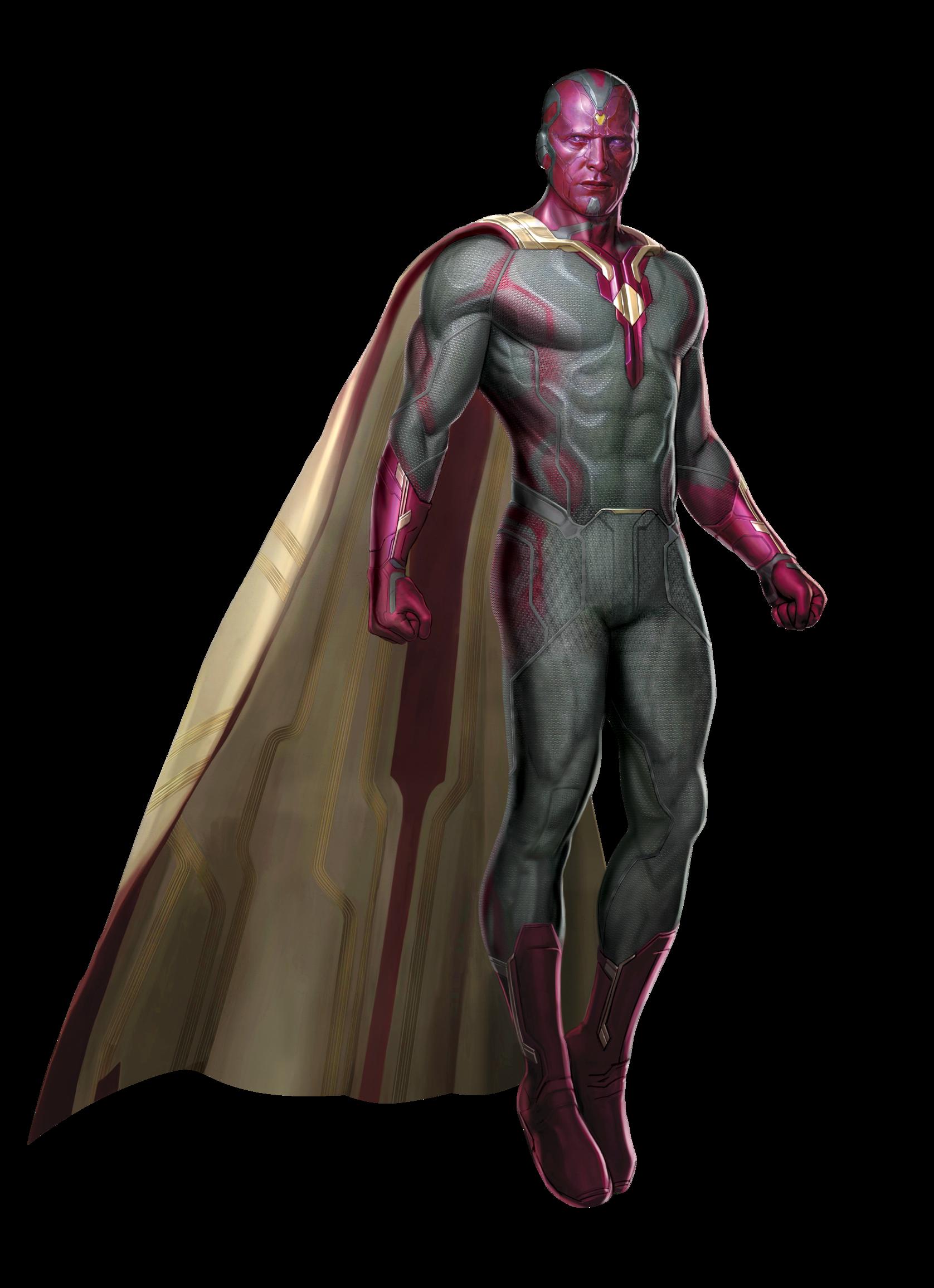 Marvel Vision PNG Transparent Image SVG Clip arts