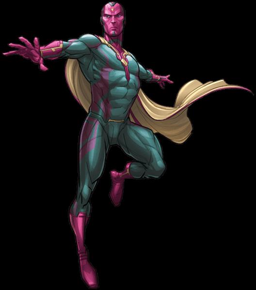 Marvel Vision PNG Transparent SVG Clip arts
