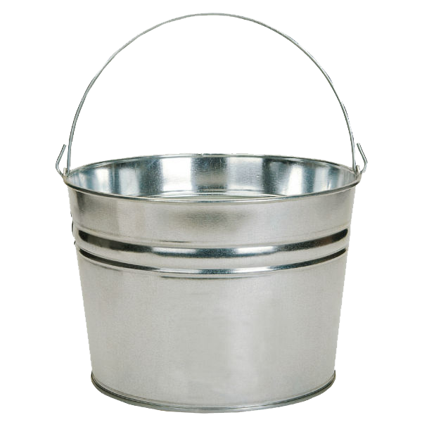 Metal Bucket PNG Transparent Image SVG Clip arts