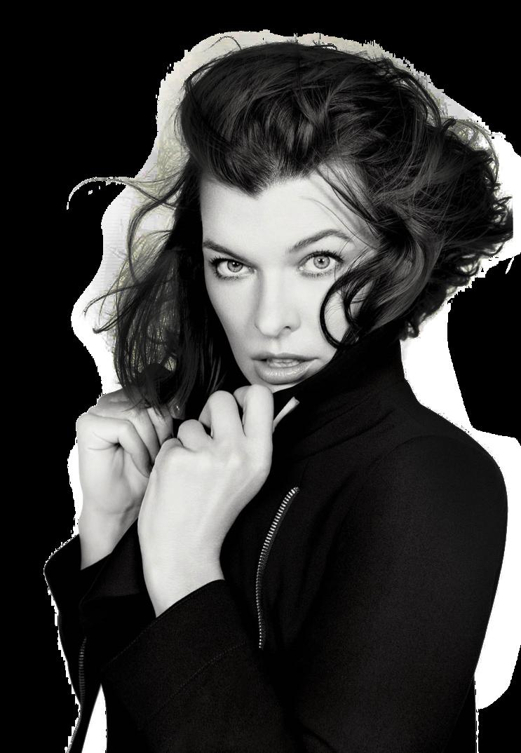 Milla Jovovich PNG Transparent Image SVG Clip arts