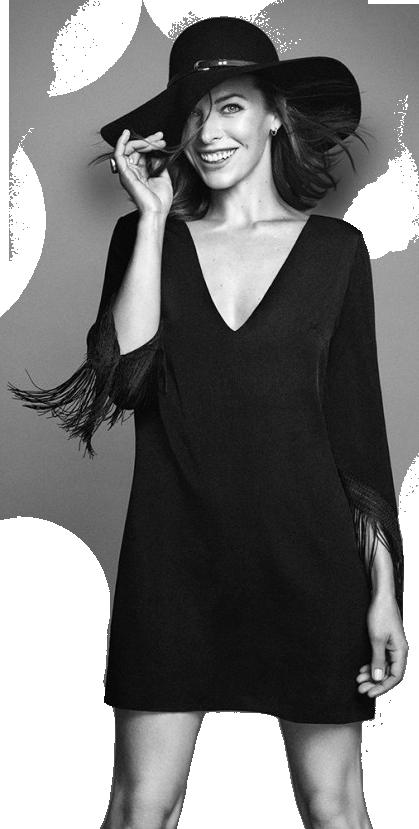 Milla Jovovich Transparent PNG SVG Clip arts