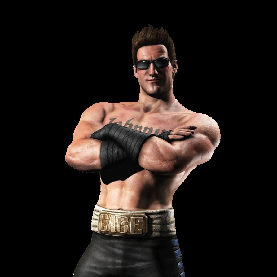 Mortal Kombat Johnny Cage Transparent Background SVG Clip arts