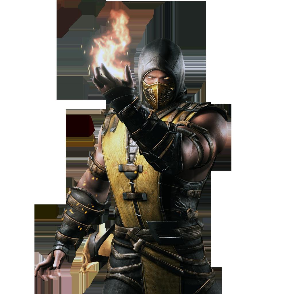 Mortal Kombat Scorpion Png Transparent Image Png Svg Clip Art For