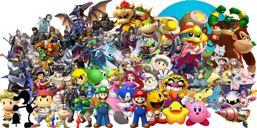 Nintendo Characters PNG Pic SVG Clip arts