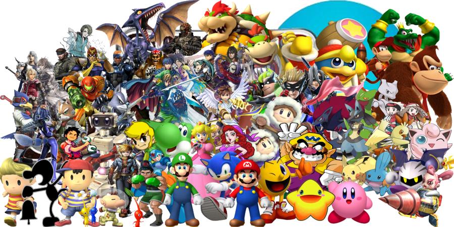 Nintendo Characters PNG Pic SVG Clip arts