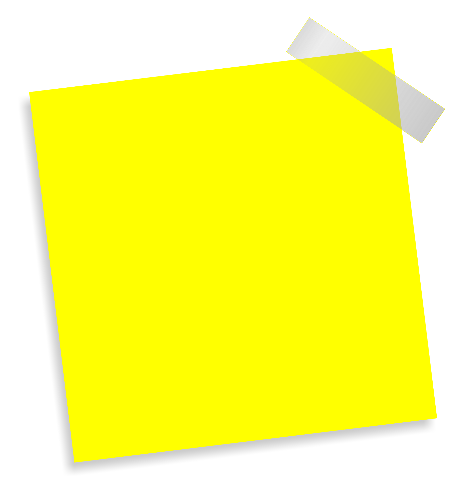 Note Transparent PNG SVG Clip arts