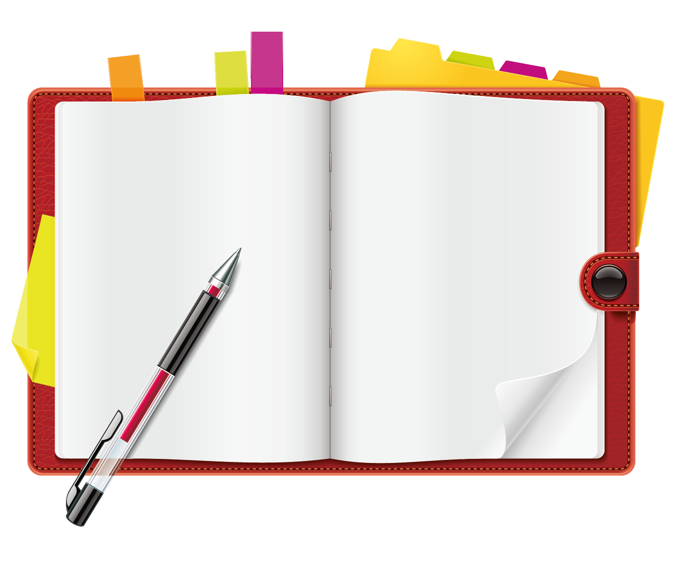 Notebook PNG Transparent Picture PNG, SVG Clip art for Web ...