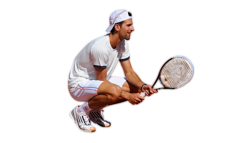 Novak Djokovic Transparent Background SVG Clip arts