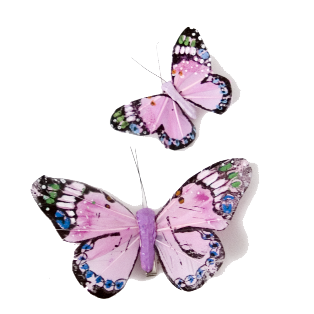 Pink Butterfly Transparent PNG SVG Clip arts