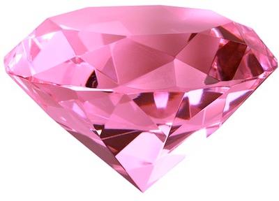 Pink Diamond Heart PNG File SVG Clip arts