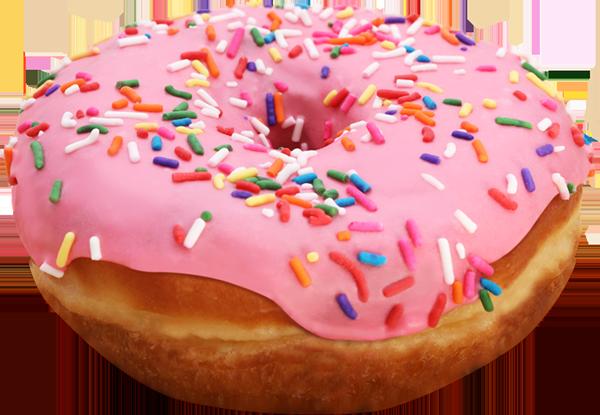 Pink Donut PNG File SVG Clip arts